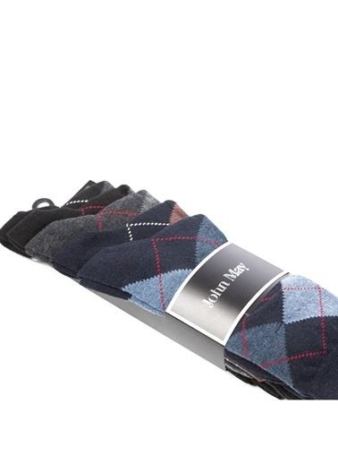 John May 5'li Çorap Renkli